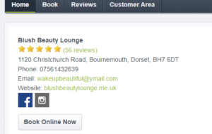 online booking bournemouth